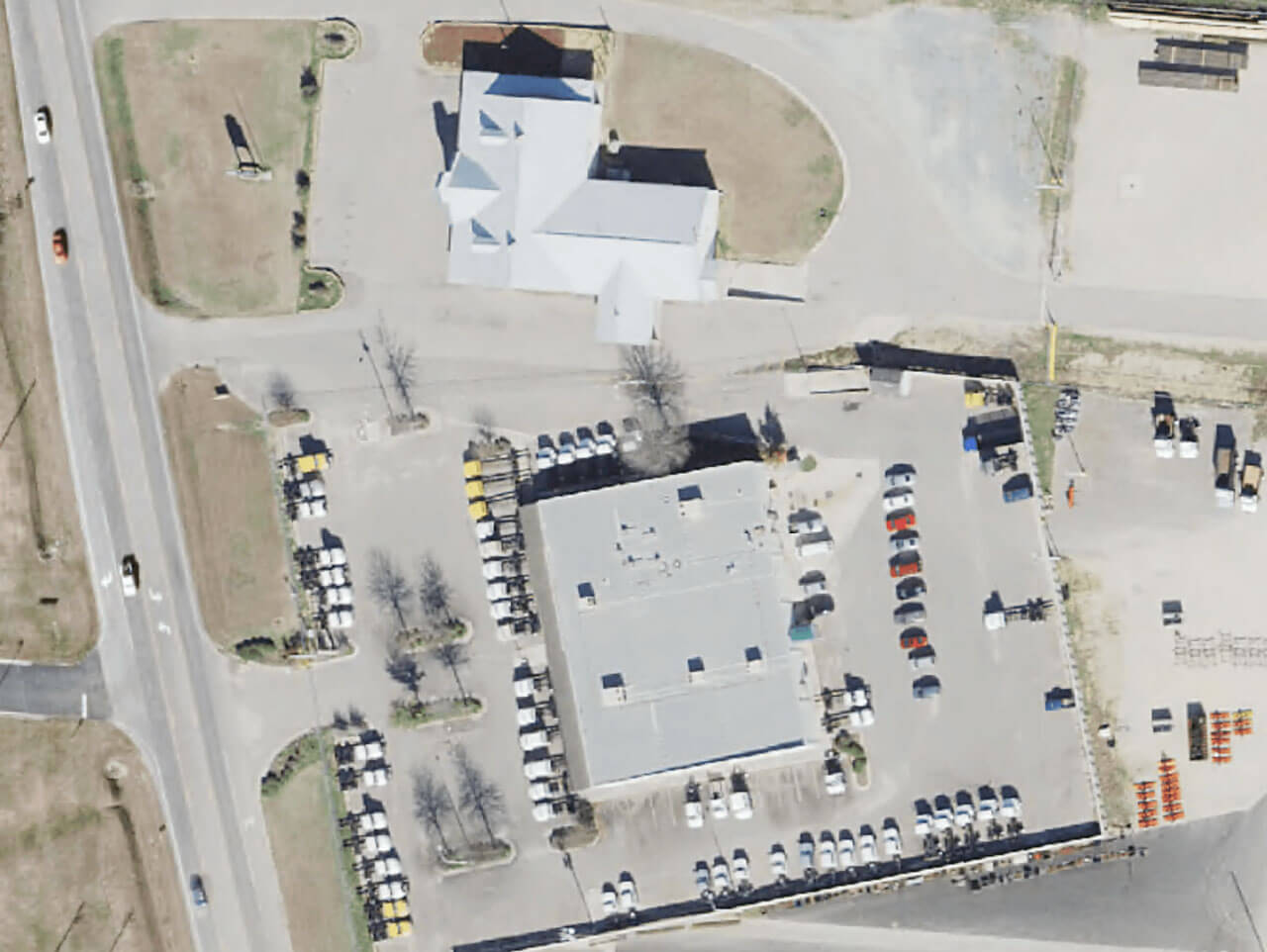 Allied Mobile Systems aerial shot